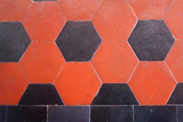 Texture pavimento cementine heritage fioranese recupero