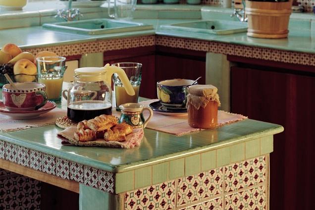 Maioliche per cucina in muratura